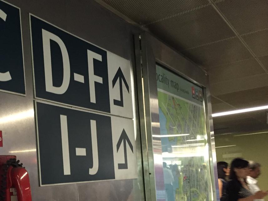 Exit J Sign 2
